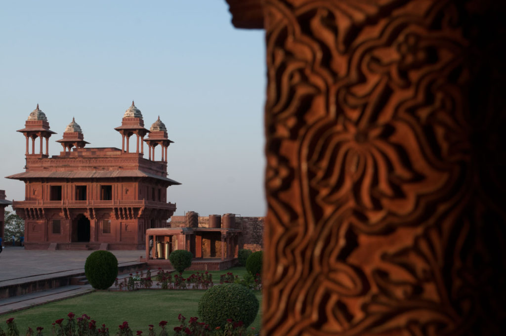 Buildings in fatehpur sikri