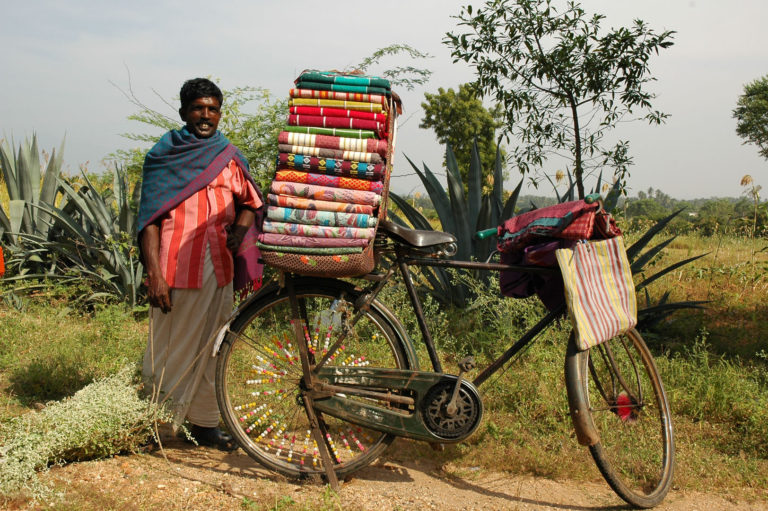 bicycle culture india a traveling salesman
