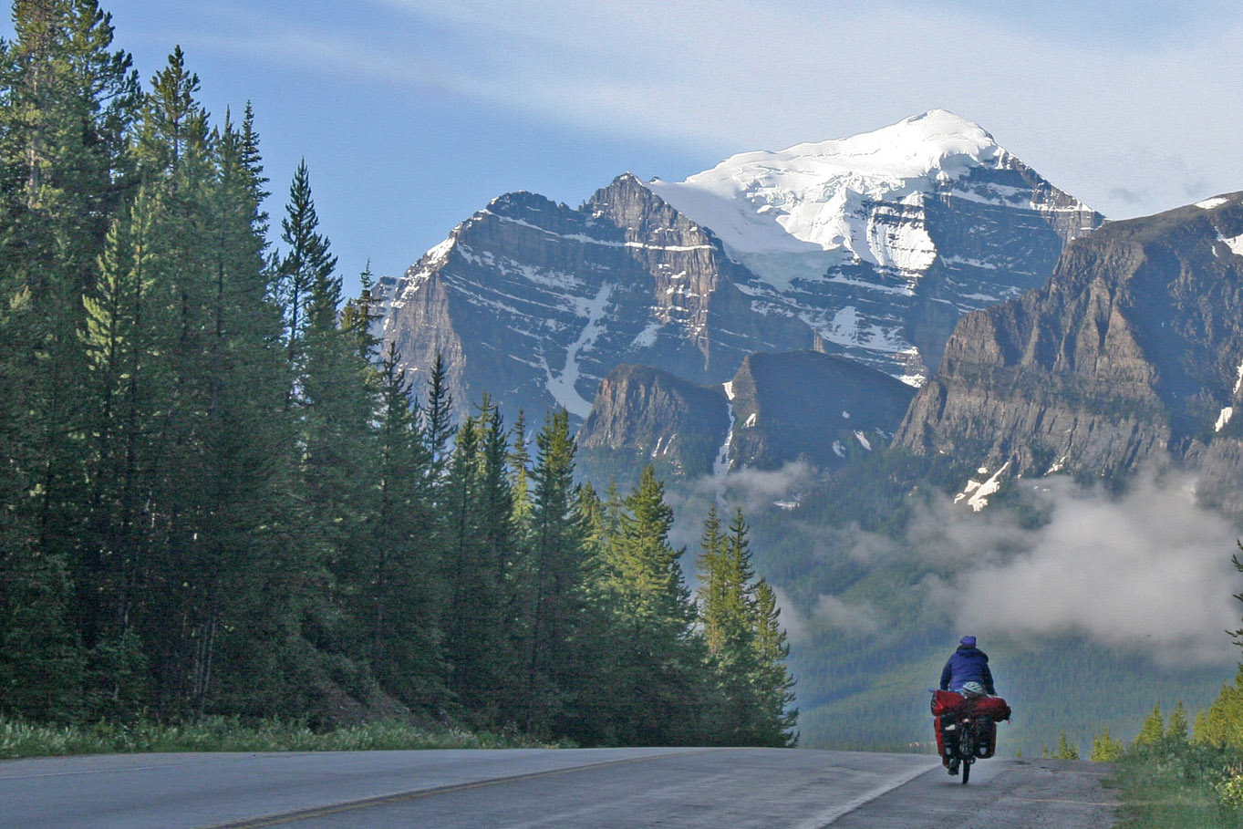 Cycling in Canada from Eric Schambion