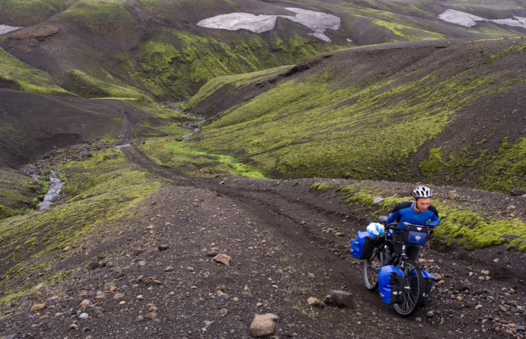 Cycling in Iceland from Willem Megens
