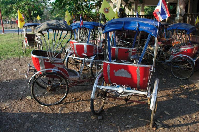 Thailand rickshaws